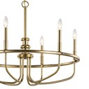 "Capitol Hill 22"" 6 Light Chandelier Classic Bronze"