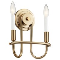 "Capitol Hill 10.75"" 2 Light Wall Sconce Classic Bronze"
