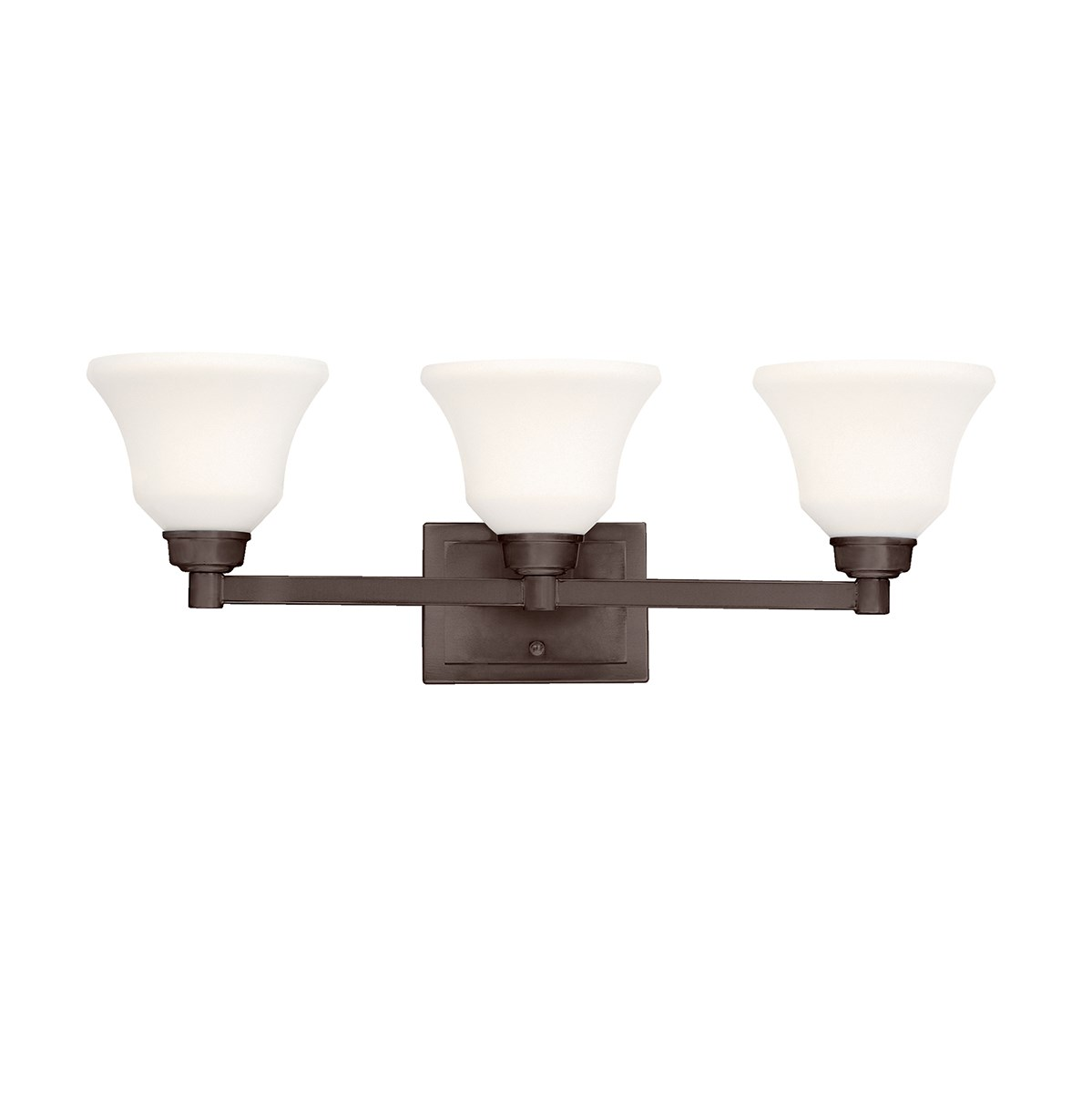 Langford™ 3 Light Vanity Light Olde Bronze