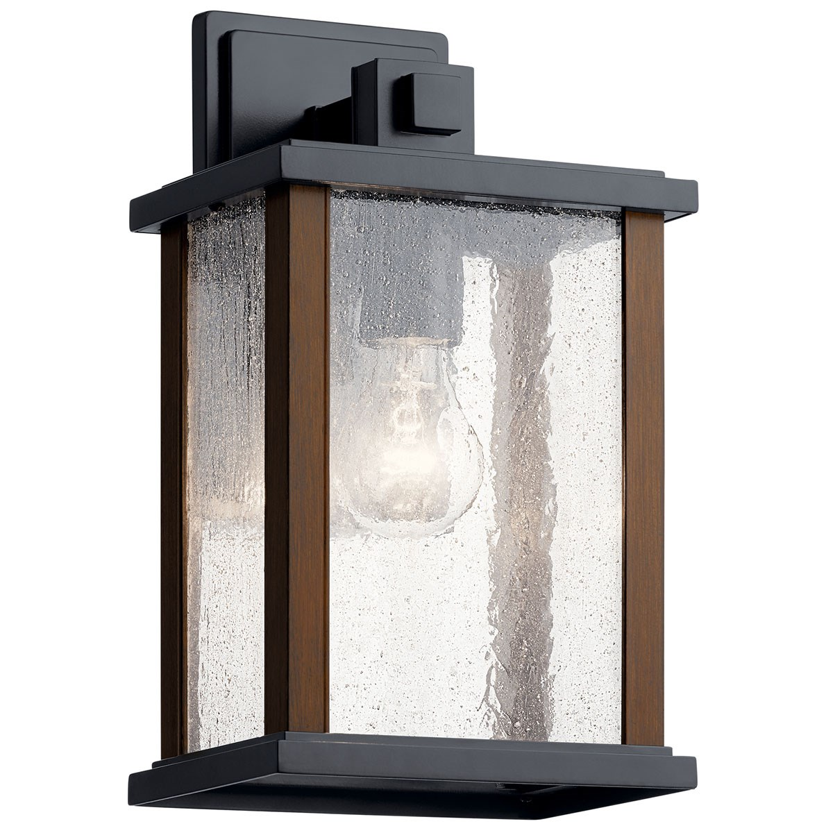 NEW Outdoor Post Light Lighting Exterior Lantern w// Rain Glass Lux Collection