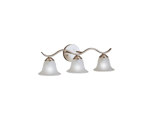 Dover 3 Light Vanity Light Brushed Nickel