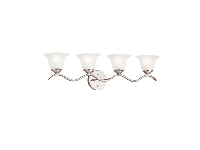 Dover 4 Light Vanity Light Brushed Nickel