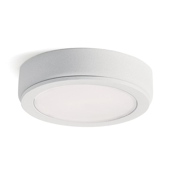 6D Series 24V 3000K LED Disc Textured White