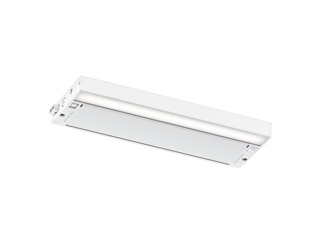 "6U 12"" 2700K/3000K LED Cabinet Light Textured White"