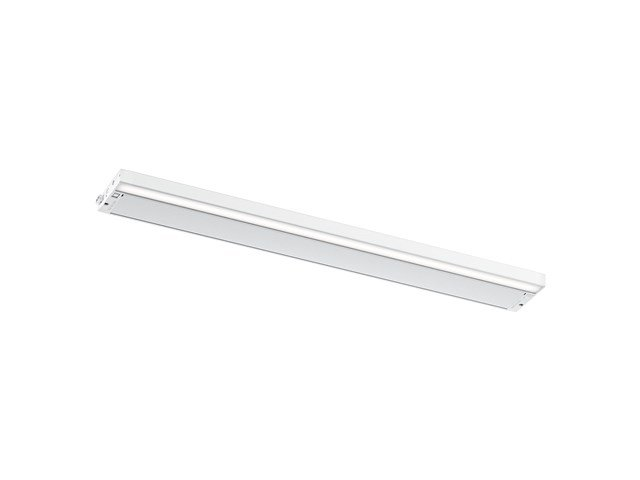 "6U 30"" 2700K/3000K LED Cabinet Light Textured White"