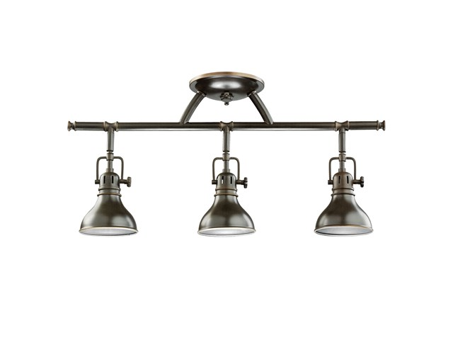 Hatteras Bay 3 Light Halogen Fixed Rail Light Olde Bronze®