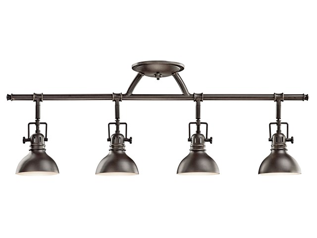 Hatteras Bay 4 Light Halogen Fixed Rail Light Olde Bronze®