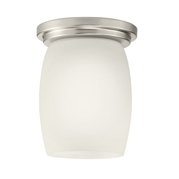 Eileen™ 1 Light Flush Mount with LED Bulb Brushed Nickel