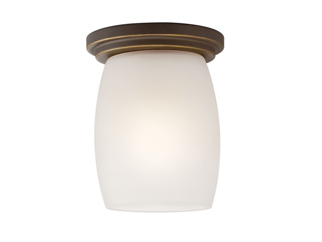 Eileen™ 1 Light Flush Mount Olde Bronze®