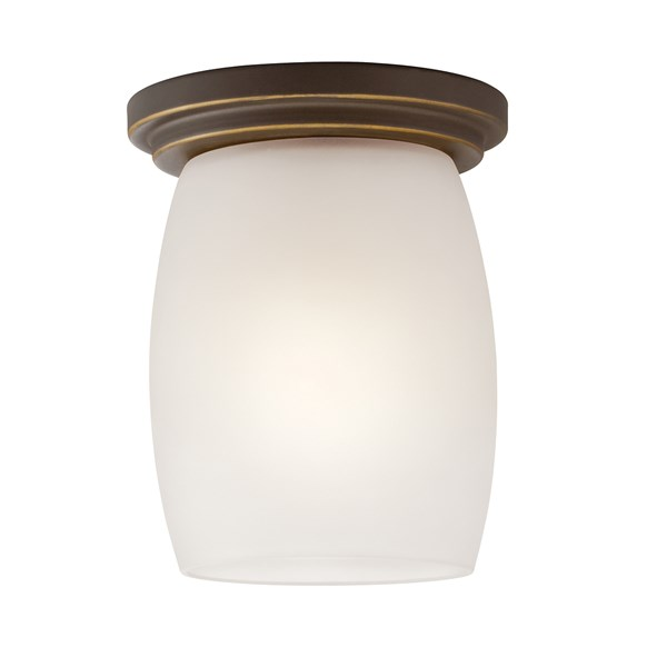 Eileen 1 Light Flush Mount with LED Bulb Olde Bronze®