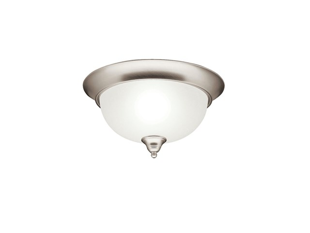 Dover 2 Light Flush Mount Brushed Nickel
