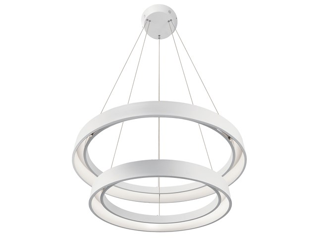 Fornello™ 2 Light LED Pendant Textured White