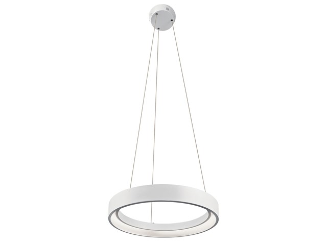 "Fornello™ 17.75"" 1 Light LED Pendant White"