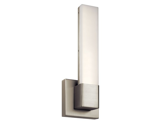"Neltev™ 14.5"" LED Sconce with Down Light Satin Nickel"