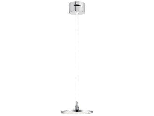 Jeno™ 1 Light Mini Pendant Chrome