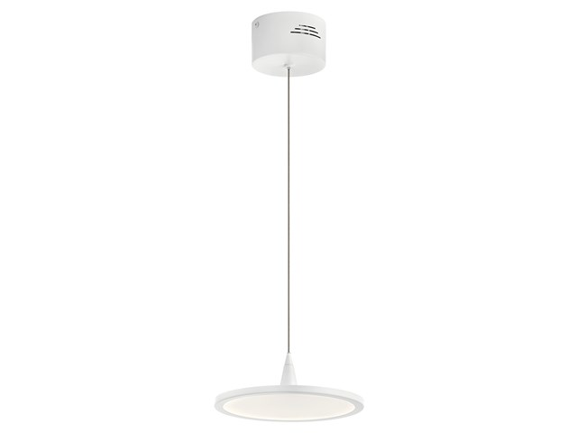 "Jeno™ LED 3000K 9"" Pendant White"