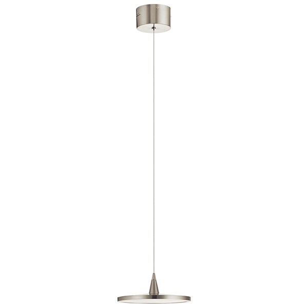 Jeno™ 1 Light Mini Pendant Brushed Nickel