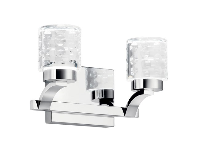 Rene 2 Light Vanity Light Chrome
