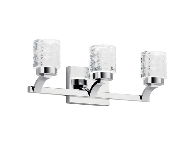 Rene 3 Light Vanity Light Chrome