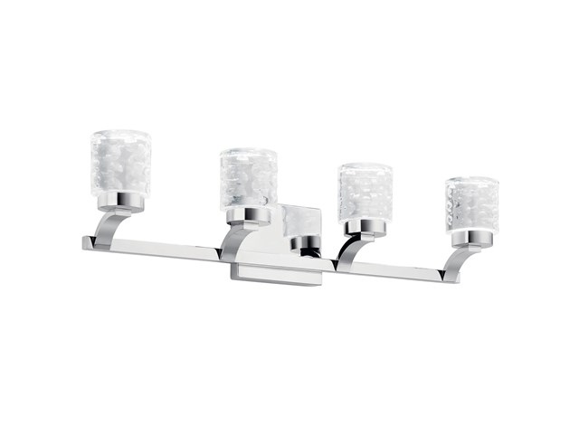 Rene 4 Light LED Vanity Light Chrome