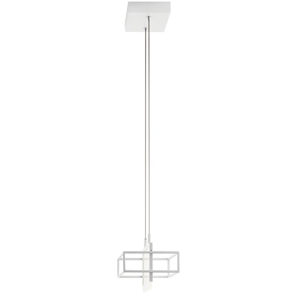 "Vega LED 3000K 8"" Mini Pendant White"