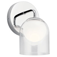 Beryl Wall Sconce Chrome