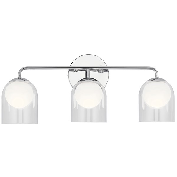 Beryl 3 Light Vanity Light Chrome