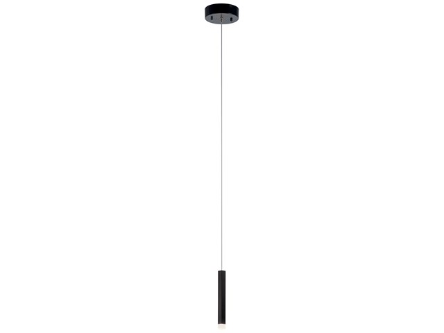Soho 1 Light LED Mini Pendant Black