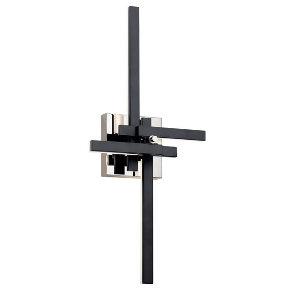 "Charter LED 3000K 26"" Wall Sconce Matte Black"
