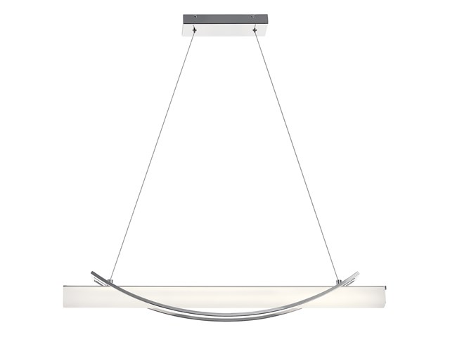 "Rowan 36"" Linear Pendant Chrome"