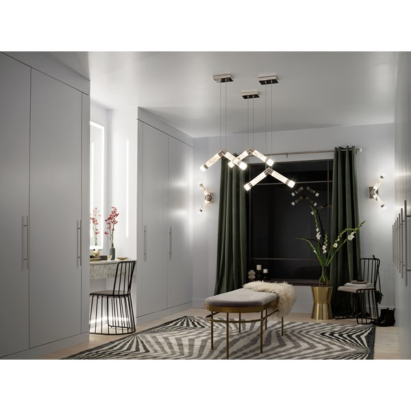 Avedu LED Mini Pendant Polished Nickel