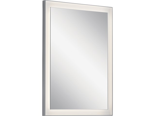 "Ryame™ 24"" Lighted Mirror Silver"