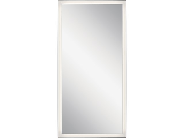 "Ryame™ 30"" Lighted Mirror Silver"