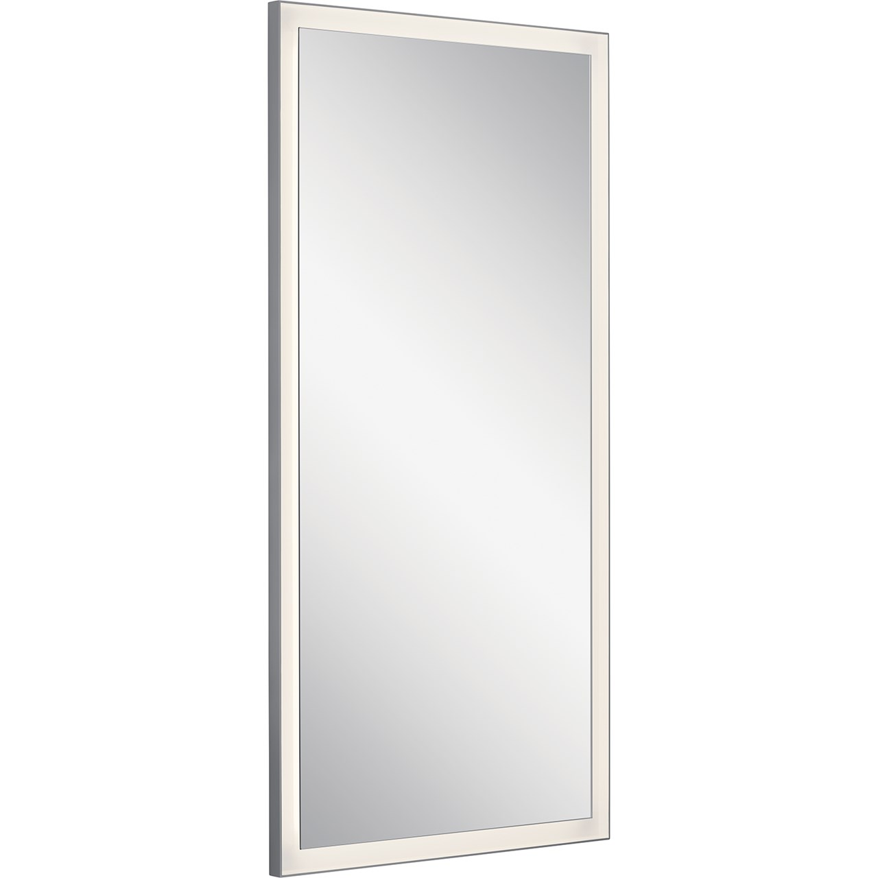 Ryame 30 Quot Lighted Mirror Silver Kichler Lighting