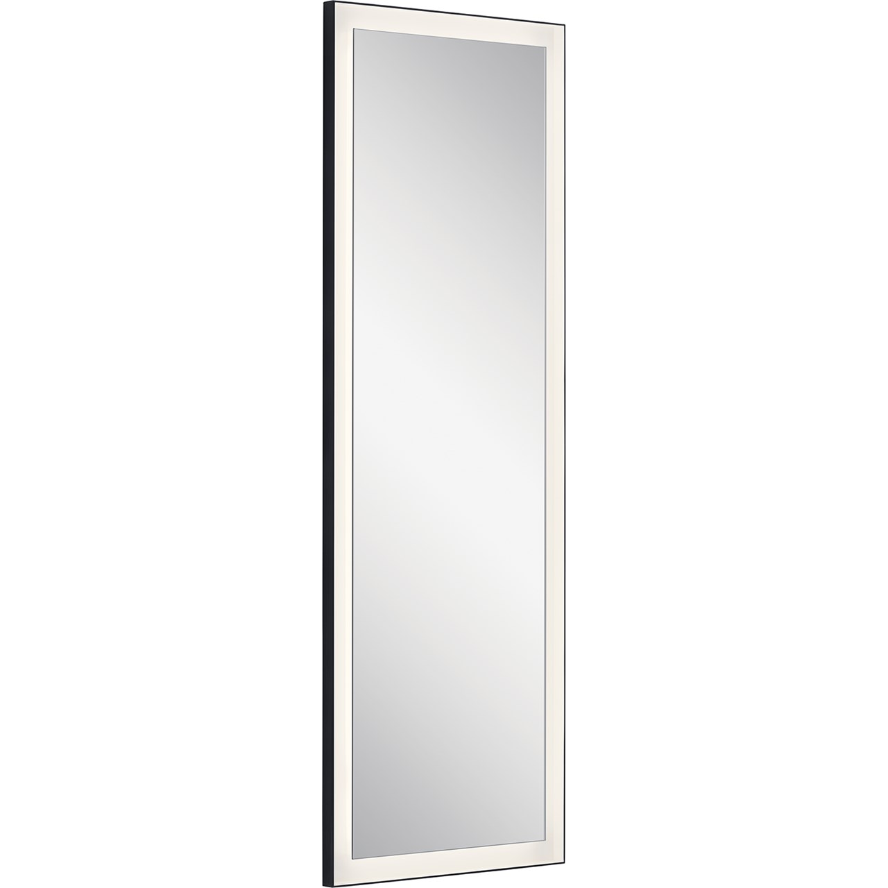 Ryame 20 Quot Lighted Mirror Black Kichler Lighting