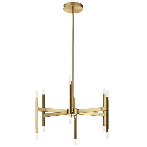 Kizette™ Small LED Chandelier Champagne Gold