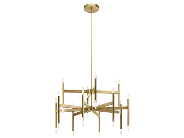 Kizette™ Large Chandelier Champagne Gold
