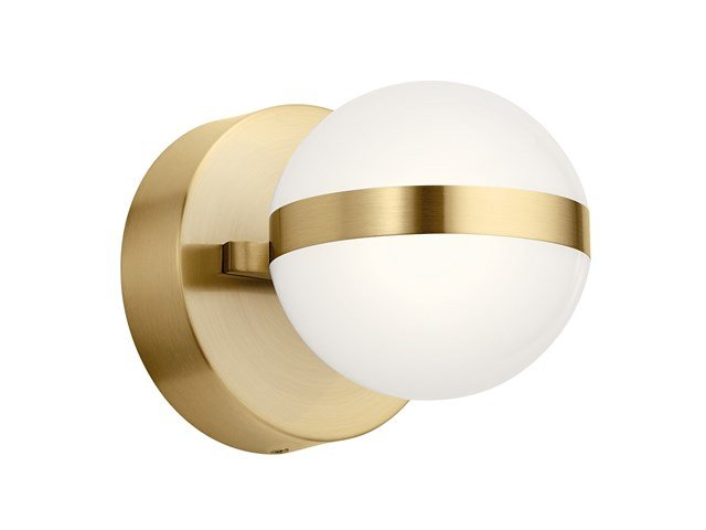 "Brettin LED 3000K 5.25"" Wall Sconce Champagne Gold"