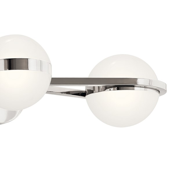 "Brettin LED 3000K 24"" Vanity Light Polished Nickel"