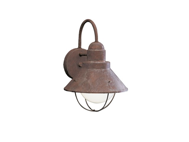 "Seaside™12"" 1 Light Outdoor Wall Light Olde Brick"