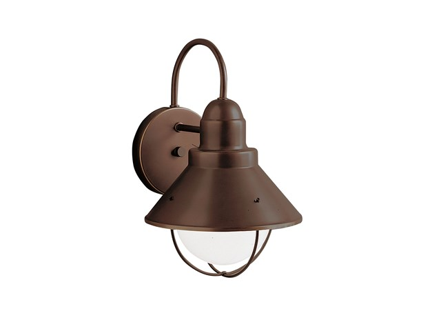 "Seaside™ 12"" 1 Light Outdoor Wall Light Olde Bronze®"