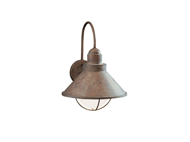 "Seaside™14.25"" 1 Light Outdoor Wall Light Olde Brick"