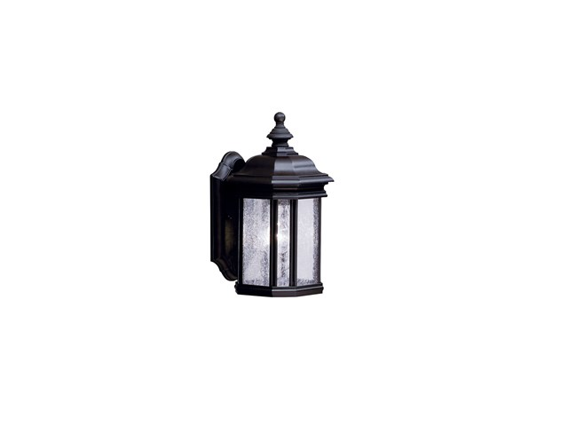 "Kirkwood™ 13"" 1 Light Wall Light Black"