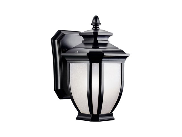 "Salisbury™ 10.25"" 1 Light Wall Light Black"