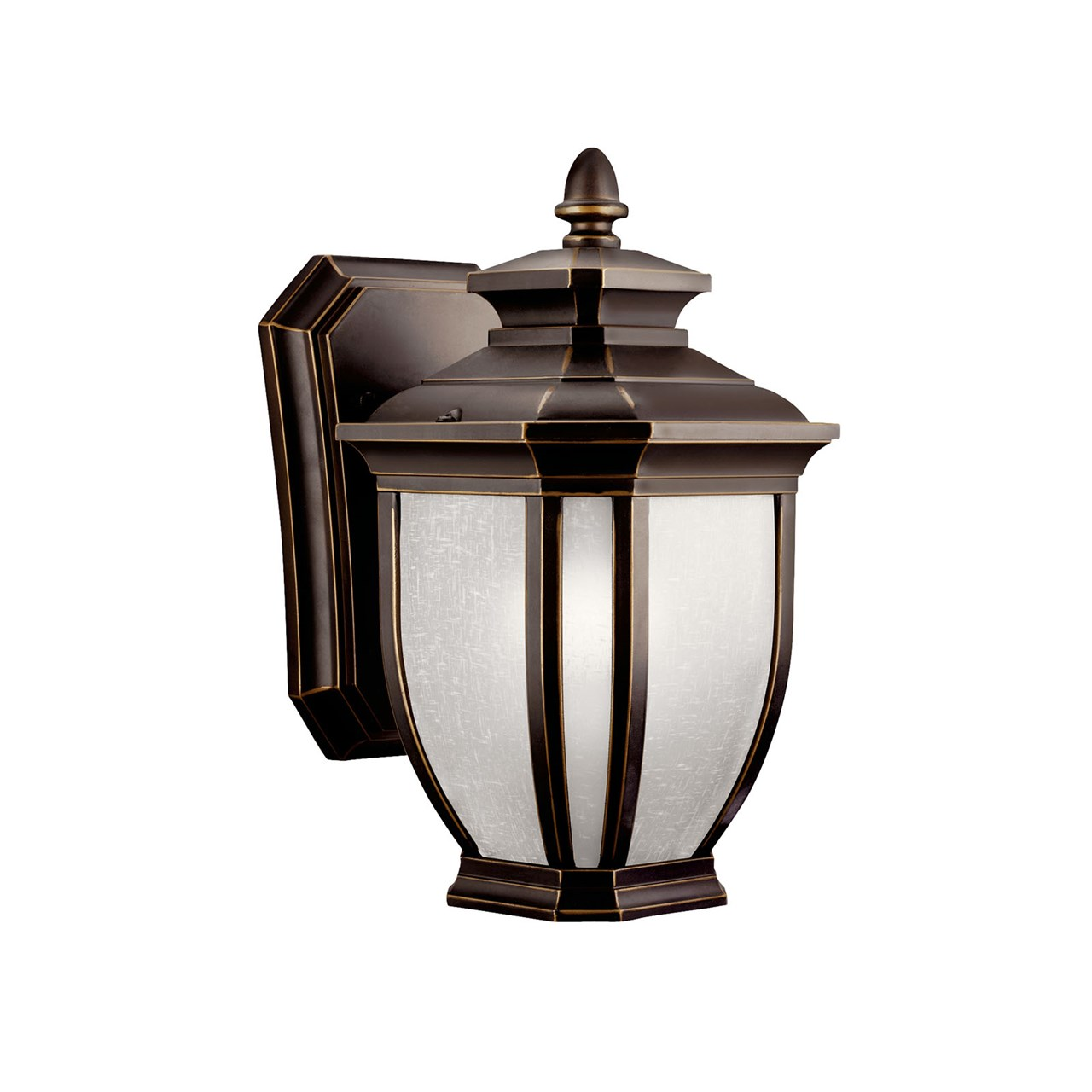 Salisbury 10 25 1 light wall light rubbed bronze