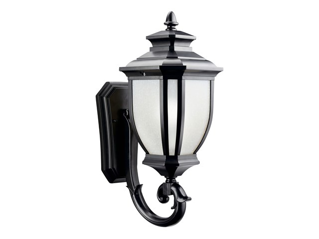 "Salisbury™ 19.25"" 1 Light Wall Light Black"