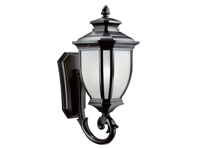 "Salsibury 24.25"" 1 Light Wall Light Black"