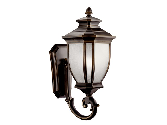 "Salsibury™ 24.25"" 1 Light Wall Light Rubbed Bronze™"