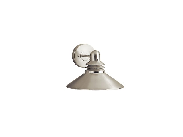 Grenoble 1 Light Wall Light Brushed Nickel