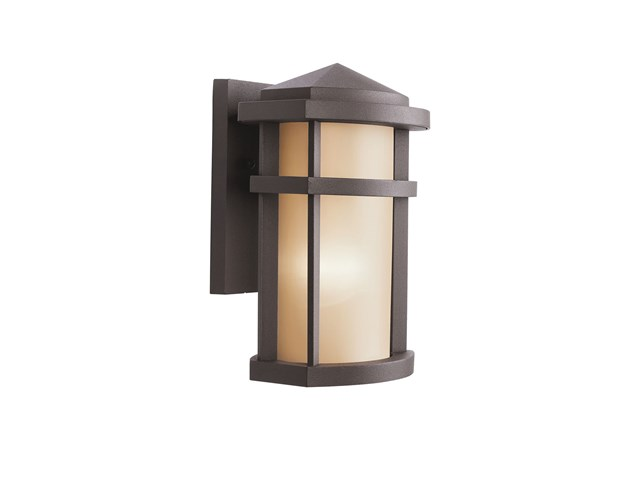 "Lantana™ 10"" 1 Light Wall Light Architectural Bronze"